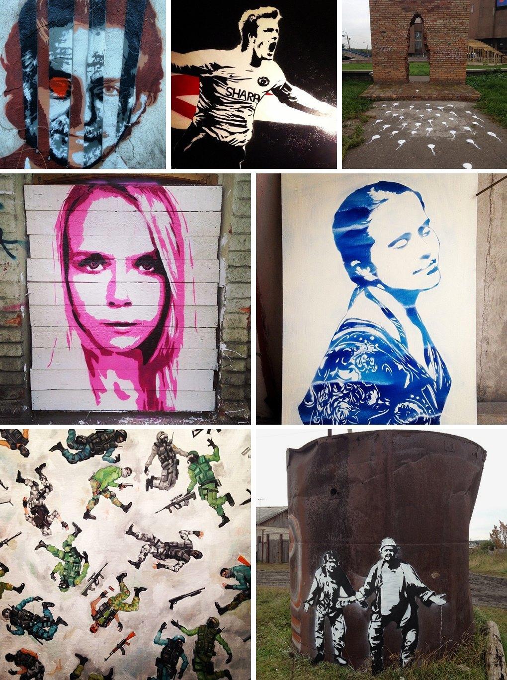 Что публикуют в своих Instagram российские граффити-художники. Часть первая. Изображение № 8.