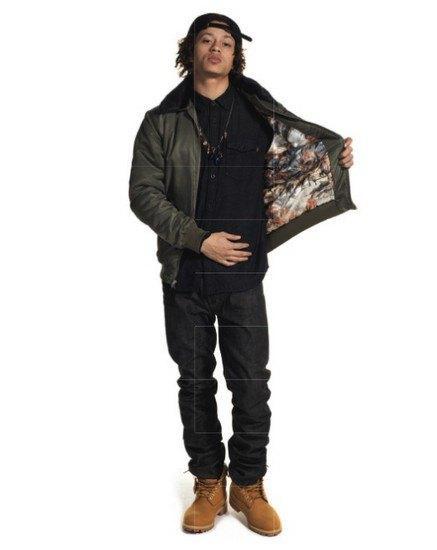 Марка Stussy выпустила осенний лукбук с участием рэпера A$AP Illz. Изображение № 14.
