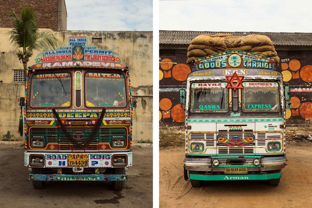 Я и друг мой грузовик: Индийские дальнобойщики и их автомобили. Изображение № 9.