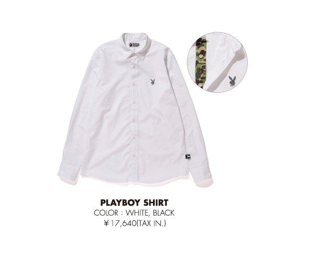 A Bathing Ape и Playboy представили совместную коллекцию одежды. Изображение № 18.