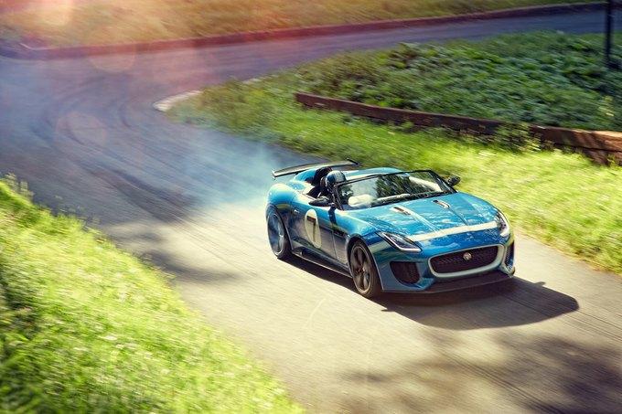 Jaguar представили родстер Project 7. Изображение № 2.
