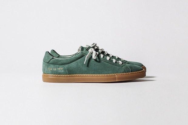 Марка Common Projects опубликовала лукбук осенне-летней коллекции обуви. Изображение № 4.