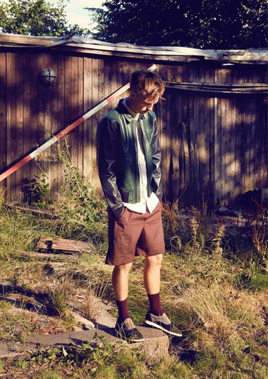 Датская марка Wood Wood опубликовала лукбук весенней коллекции одежды. Изображение № 4.