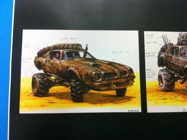 Опубликованы первые концепт-арты фильма «Безумный Макс: Дорога ярости». Изображение № 4.