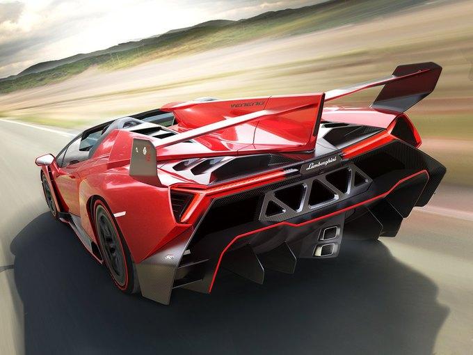 Lamborghini представили новый родстер Veneno. Изображение № 4.