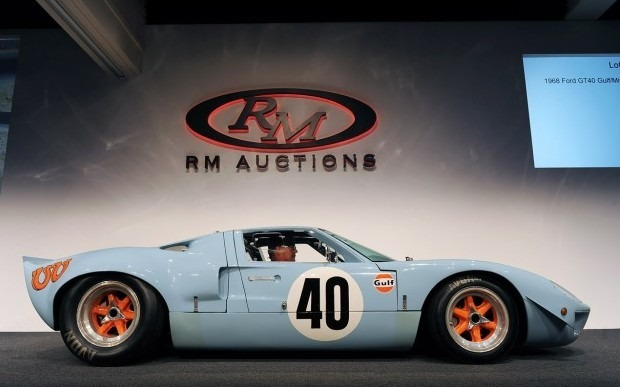 Спорткар Ford GT40 стал самым дорогим американским автомобилем. Изображение № 3.