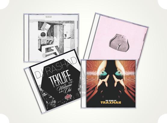 DJ Rashad «Teklife Vol. 1: Welcome to the Chi», Traxman «Da Mind of Traxman», Vtgnike «Sueta Nebitiya», ну и, так и быть, Machinedrum «Room(S)» — только никому не говорите, если понравится. Изображение № 23.