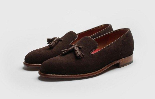 Марка Grenson выпустила весеннюю коллекцию обуви. Изображение № 24.