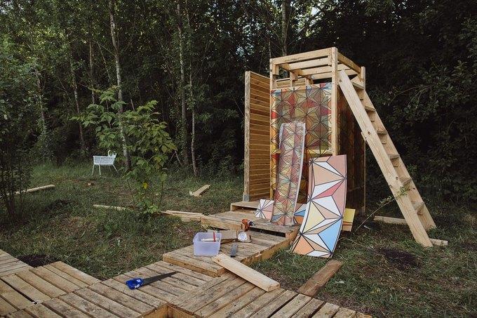Фоторепортаж: Строительство объектов фестиваля Outline. Изображение № 61.