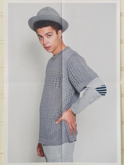 Японская марка Discovered выпустила лукбук весенней коллекции одежды. Изображение № 14.