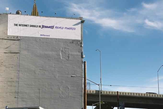 Протокол BitTorrent начал рекламную кампанию в поддержку свободного интернета. Изображение № 5.