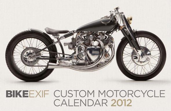 Календарь с кастомизированными мотоциклами сайта Bike EXIF. Изображение №4.