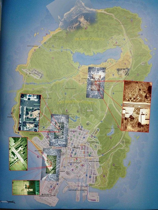 В сети появилась карта открытого мира GTA V. Изображение № 1.