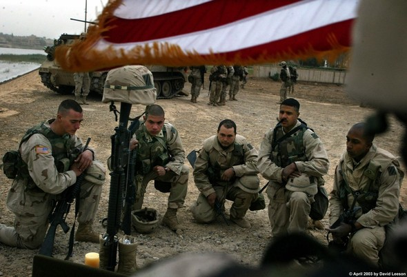 Военное положение: Одежда и аксессуары солдат в Ираке. Изображение № 39.