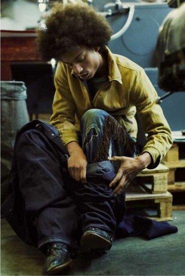 Марка Levi's Vintage Clothing опубликовала осенний лукбук. Изображение № 23.