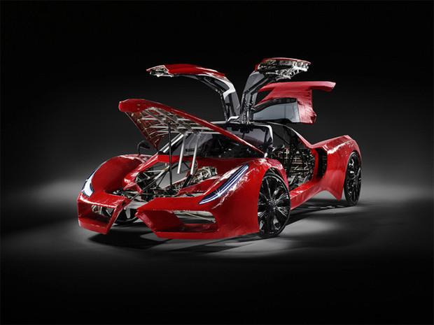 В Австрии сделали самый медленный в мире Ferrari. Изображение №9.