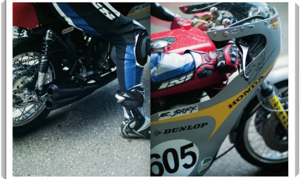 В Германии издали книгу фотографий ежегодной гонки на мотоциклах Barr Hill Race. Изображение № 2.