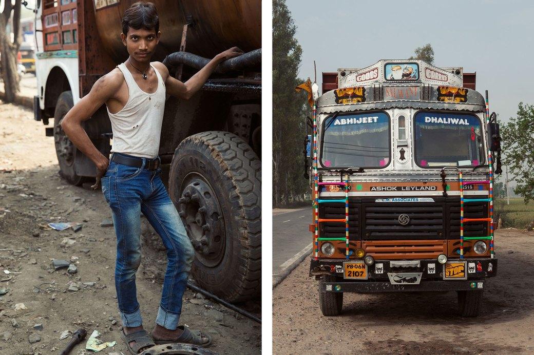 Я и друг мой грузовик: Индийские дальнобойщики и их автомобили. Изображение № 7.