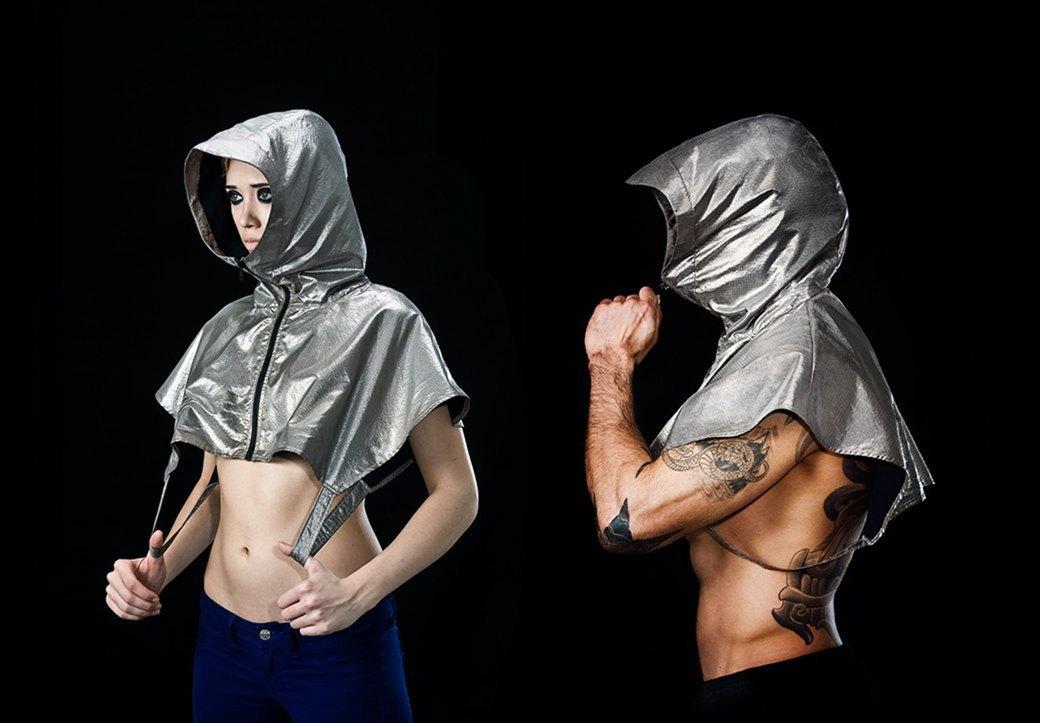 Изотермический — новый чёрный: Зачем нужна фольгированная одежда в эпоху глобальной слежки. Изображение № 12.