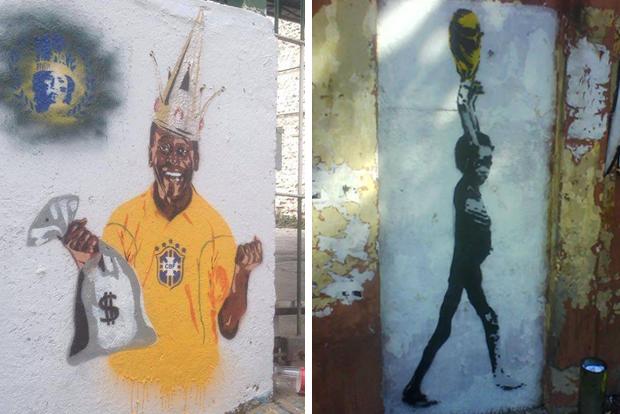 Такой футбол нам не нужен: Граффити против чемпионата мира. Изображение № 5.