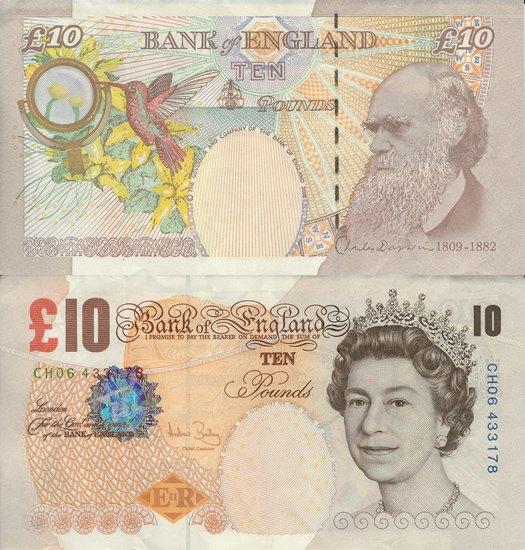 The Beatles и Мик Джаггер могут попасть на 10-фунтовую банкноту. Изображение № 1.