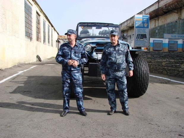 Российские заключенные изготовили вездеход-амфибию . Изображение № 4.
