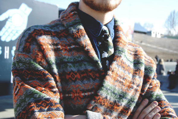 Детали: Репортаж с выставки мужской одежды Pitti Uomo. День первый. Изображение № 12.