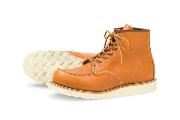 Капсульная коллекция обуви марки Red Wing. Изображение № 1.