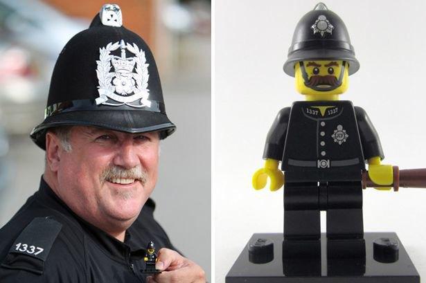 В Англии нашелся прототип полицейского из конструктора Lego. Изображение № 1.