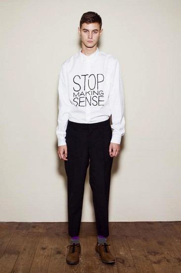 Марка Undercover опубликовала лукбук весенней коллекции одежды. Изображение № 23.