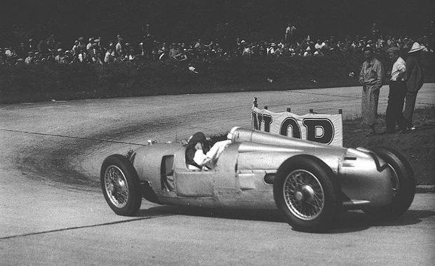 Уникальный болид Audi Auto Union 1939 года вернулся в Германию. Изображение № 8.