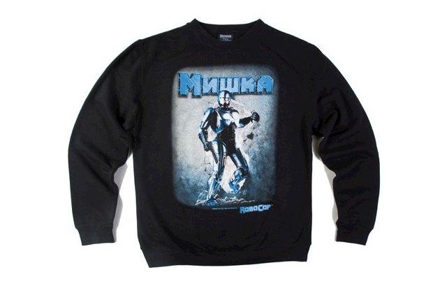 Марка Mishka выпустила коллекцию одежды в честь юбилея фильма «Робокоп». Изображение № 4.