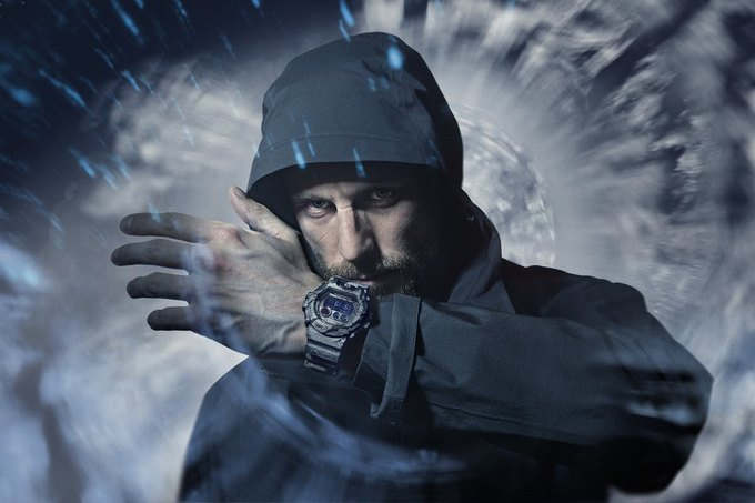 В магазине Brandshop состоится запуск продаж коллаборационной модели часов Casio G-Shock x Maharishi. Изображение № 10.