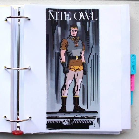В сети появились иллюстрации приквела комикса «Хранители». Изображение № 19.