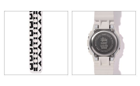 Компания Casio и марка Stussy представили совместную модель часов G-Shock. Изображение № 2.