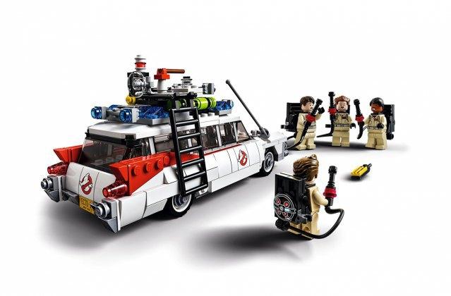 Компания LEGO к юбилею фильма «Охотники за привидениями» представила конструктор. Изображение № 3.