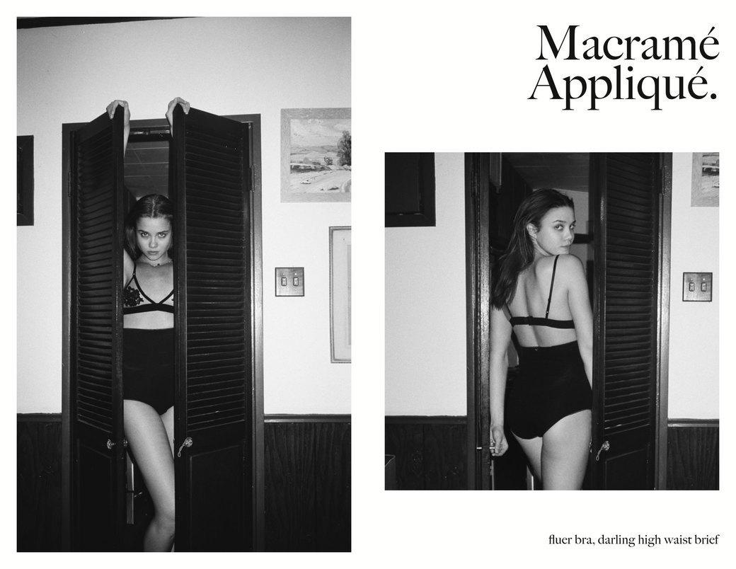 Эротический фотограф Хенрик Пурьенн снял лукбук женского белья для марки For Love & Lemons. Изображение № 4.
