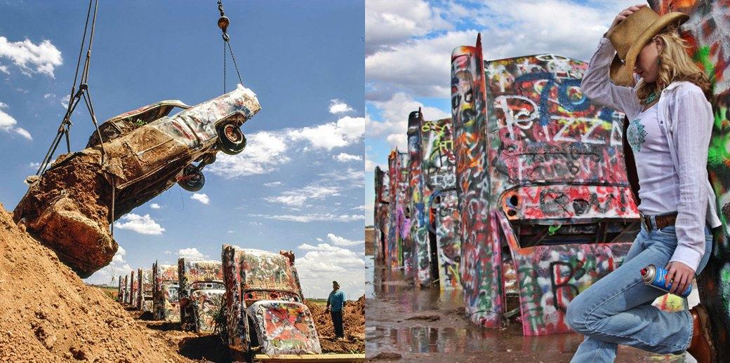 «Ранчо Кадиллак»: Как автомобильное кладбище превратилось в легенду. Изображение № 4.