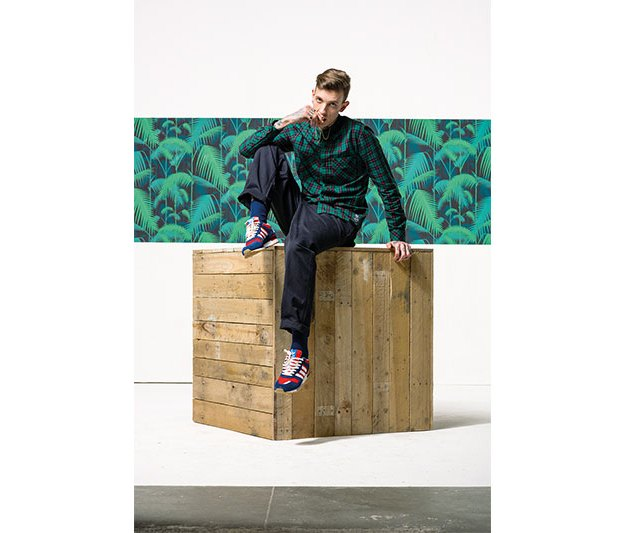 Марка Adidas Originals опубликовала осенний лукбук. Изображение № 4.