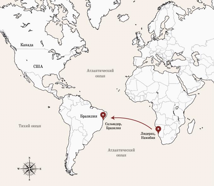 Одинокое плавание: 8 путешественников, пересекших Атлантику на весельной лодке. Изображение № 6.