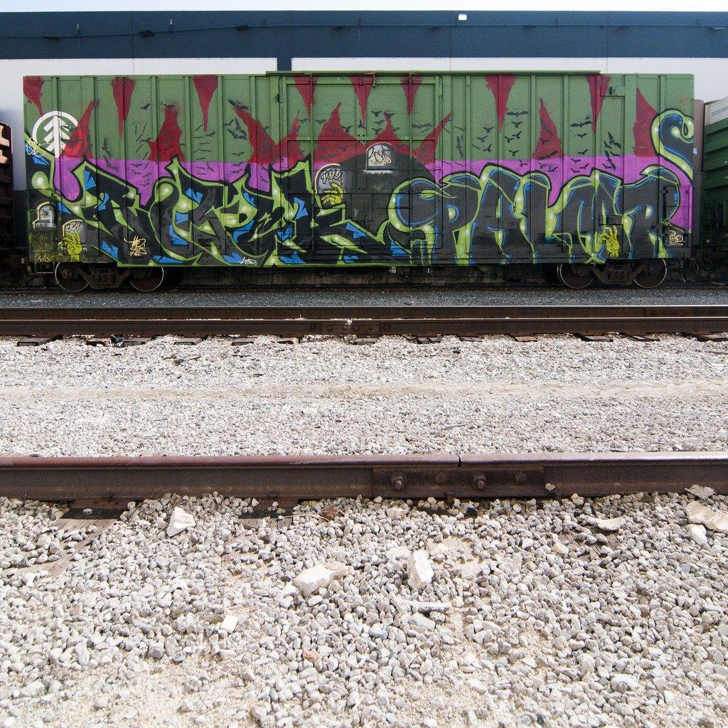 True 2 Death: Блог о разрисованных поездах из Южной Калифорнии. Изображение № 23.
