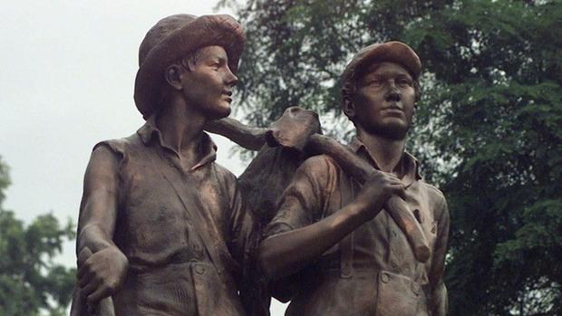 Историю приключений Тома Сойера и Гекльберри Финна экранизируют в стиле стимпанк. Изображение № 1.