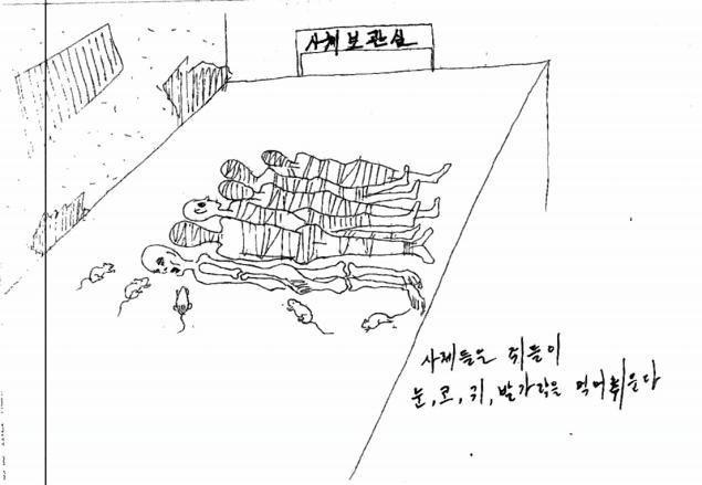 Бывший заключённый проиллюстрировал зверства в тюрьмах Северной Кореи. Изображение № 5.