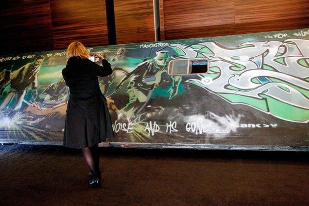 Бэнкси осудил выставку-аукцион своих работ «Воруя Бэнкси». Изображение № 1.