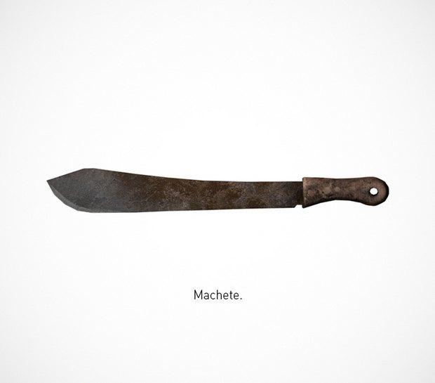 Итальянский дизайнер представил коллекцию ножей знаменитых персонажей. Изображение № 17.