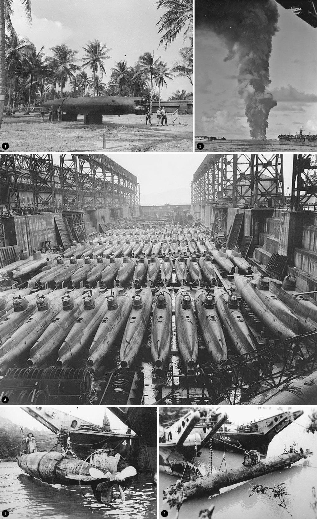 Кайтены: японские подводные камикадзе. Изображение № 2.