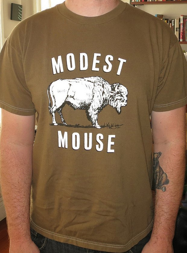 Minor Thread: Тысячедневный марафон футболок с логотипами музыкантов. Изображение № 22.