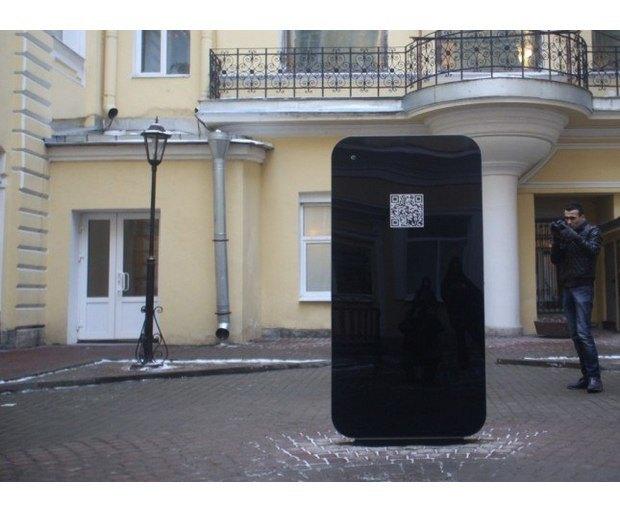 В Петербурге открыли памятник Стиву Джобсу в виде огромного iPhone. Изображение № 4.