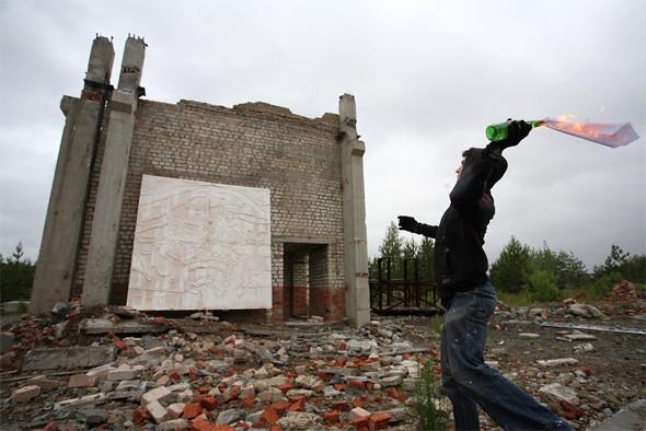 Скетчбук: Уличный художник Radya из Екатеринбурга рассказывает о пяти своих работах. Изображение № 23.