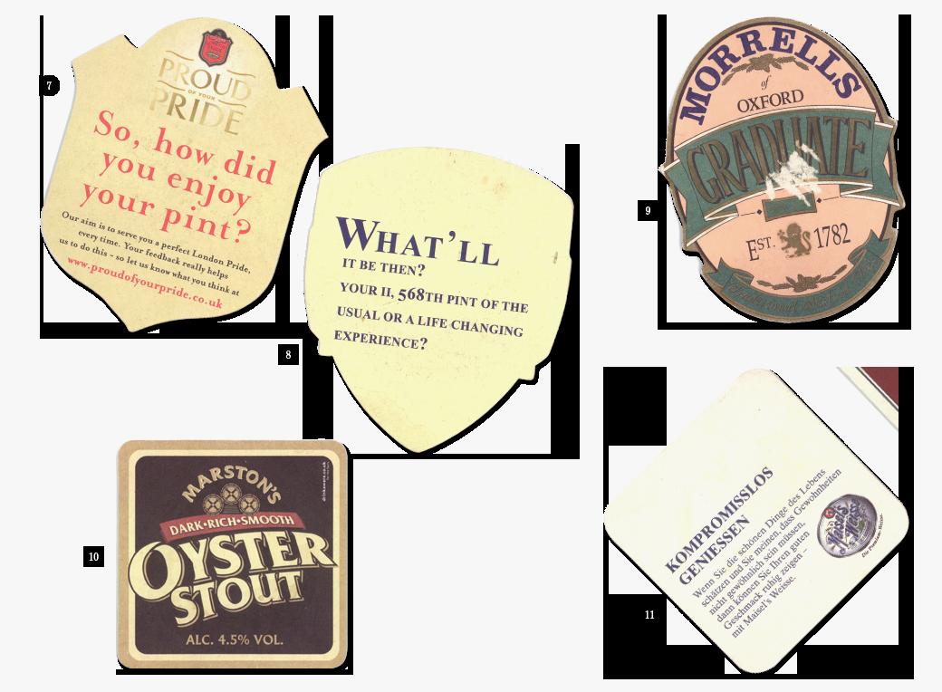 Коллекция бирдекелей: Избранные подставки под пиво дизайнера Никиты Трепцова. Изображение № 5.